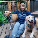 Martha and her two companions, Libby & JoJo